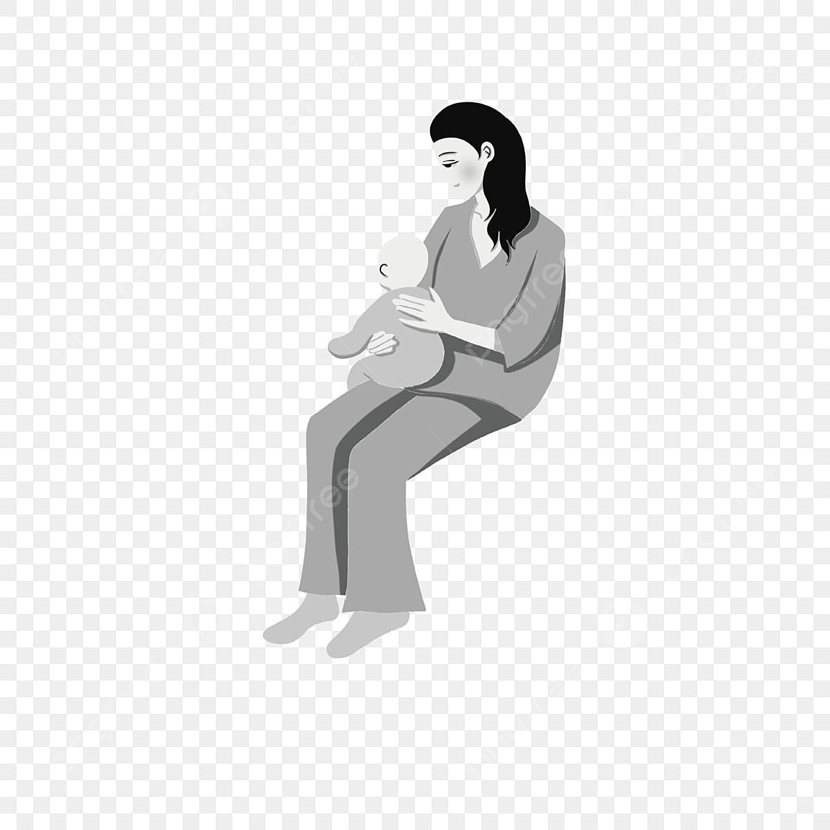 Gambar Ibu Dan Anak Ibu Watak Kartun Ilustrasi Kartun Ilustrasi Ibu Ilustrasi Kartun Png Dan Psd Untuk Muat Turun Percuma
