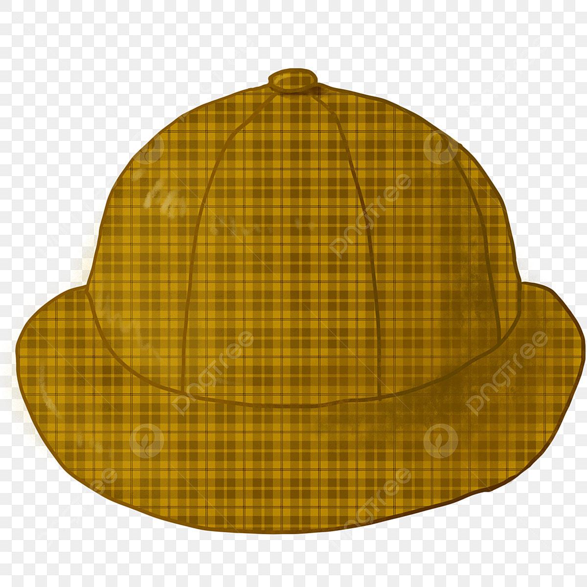 Chapeau De Dessin Animé Chapeau à Carreaux Décoration De