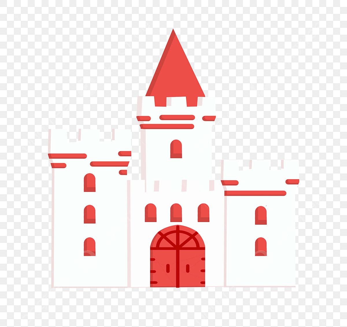 Gambar Istana Putih Istana Yang Indah Istana Kartun Bangunan Kartun Kartun Ilustrasi Istana Istana Png Dan Psd Untuk Muat Turun Percuma