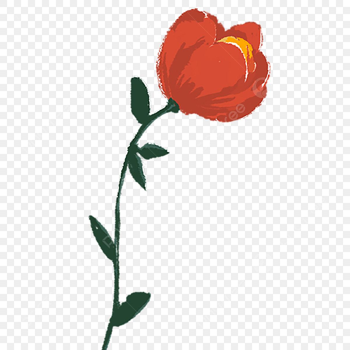 Couleur Plante Fleur Illustration De Dessin Animé Couleur