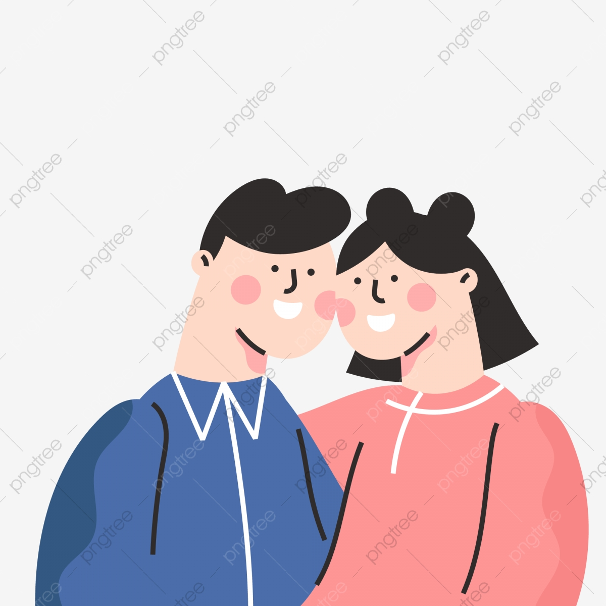 80+ Gambar Pasangan Romantis Kartun Islami Gratis