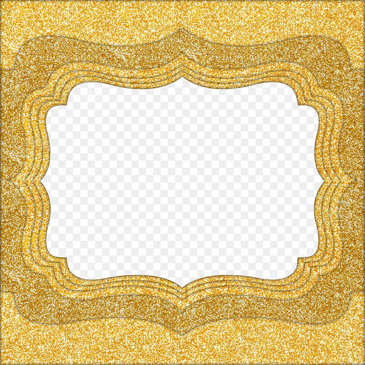 Quadro De Casamento Dourado Arte Fundo Fronteira Arquivo
