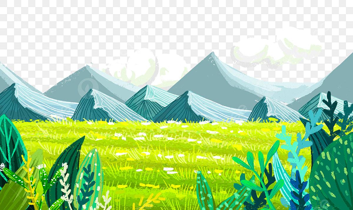 A Set of Forest Landscape - Download Free Vectors, Clipart Graphics &  Vector Art