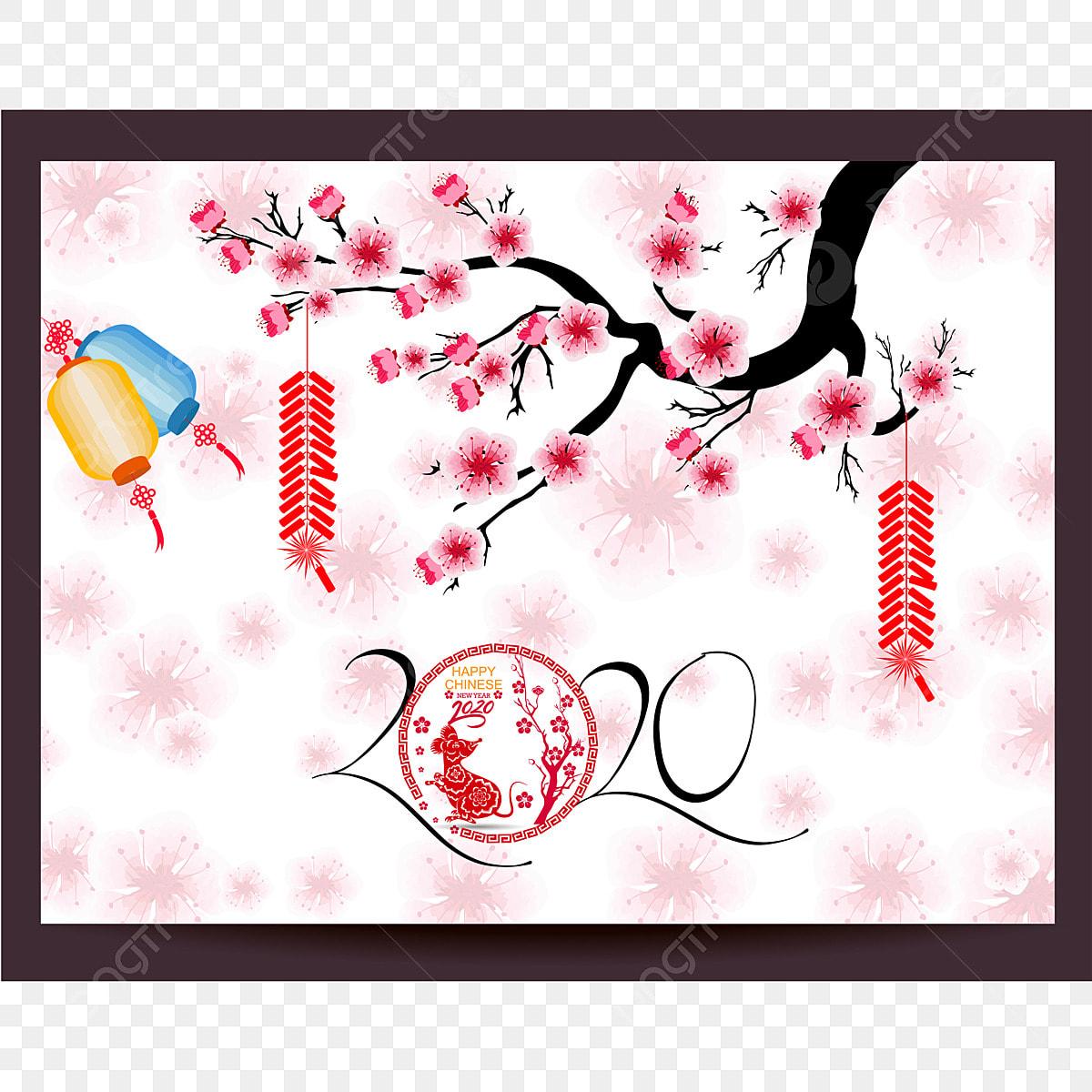 Chinesisches Jahr 2020 Farbe