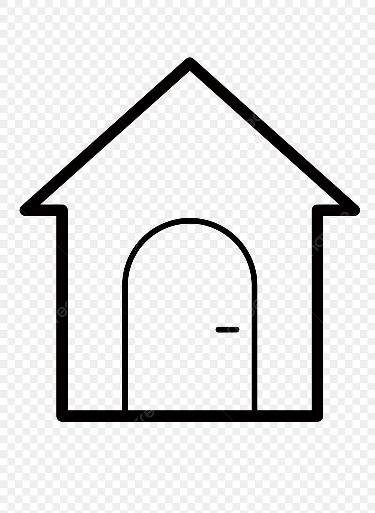 Gambar Ikon Kartun Perumahan Rumah Sederhana Perumahan Png Dan Psd Untuk Muat Turun Percuma