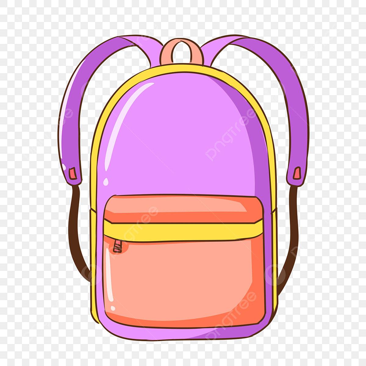 Gambar Beg Sekolah Ungu Beg Sekolah Yang Kreatif Beg Sekolah Yang Dicat Beg Sekolah Kartun Beg Sekolah Ungu Beg Sekolah Yang Kreatif Tangan Png Dan Psd Untuk Muat Turun Percuma