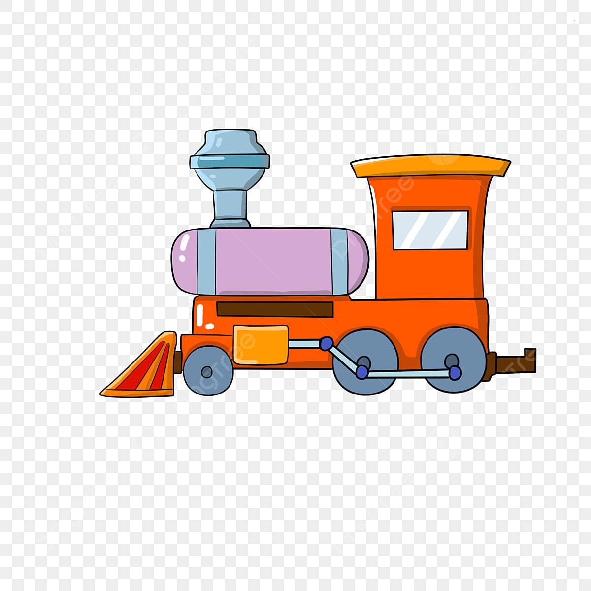 Pengangkutan Ilustrasi Kartun Ilustrasi Kereta Api Kereta