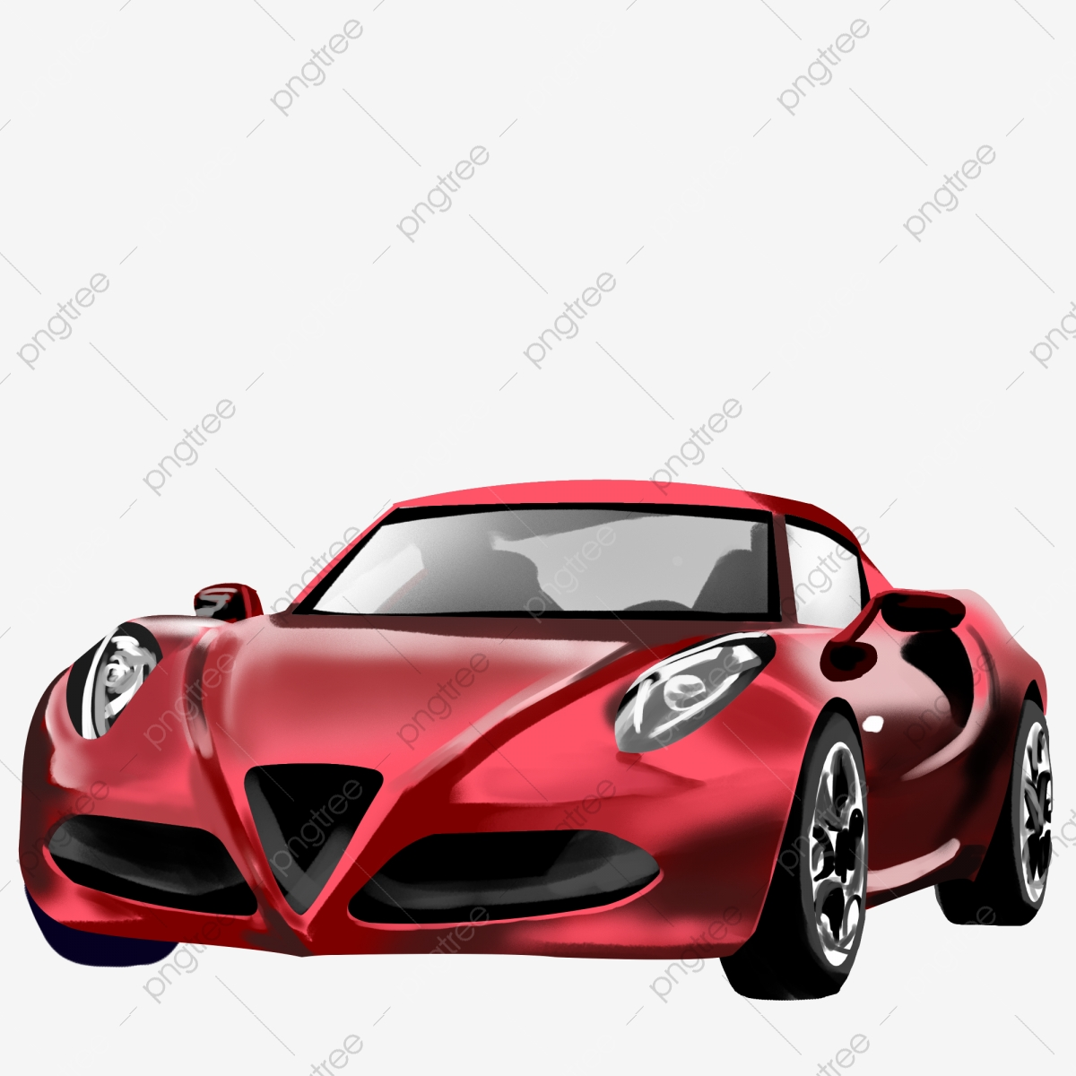 Stylish Luxury Red Sports Car Simulation Illustration Car Clipart Png Red S Car Luxury Png Transparent Clipart Image And Psd File For Free Download