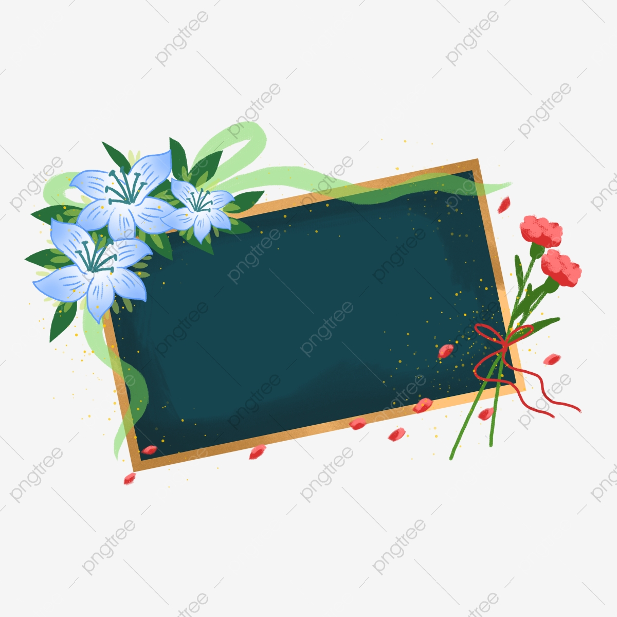 Vector Floral Bouquets On Chalkboard. Black And White Flowers.. Royalty  Free Cliparts, Vectors, And Stock Illustration. Image 80999516.