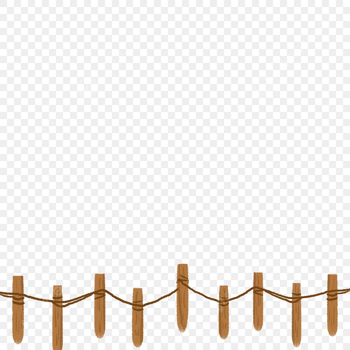 Vintage Fence Clip Art