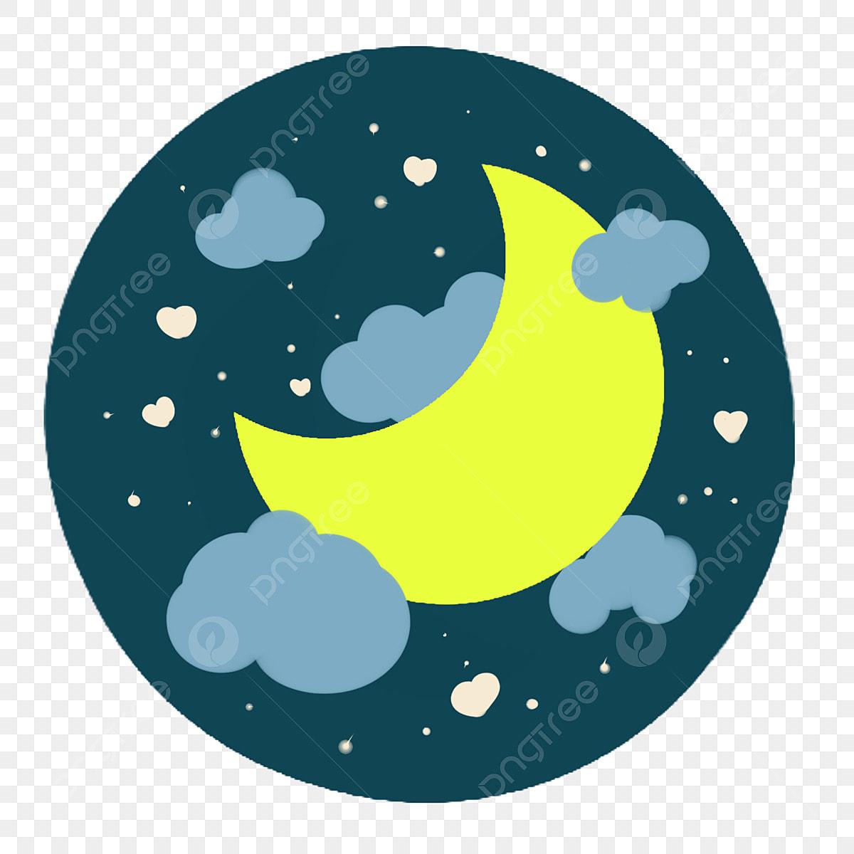 Crescent Moon clipart - Moon, Circle, Leaf, transparent clip art