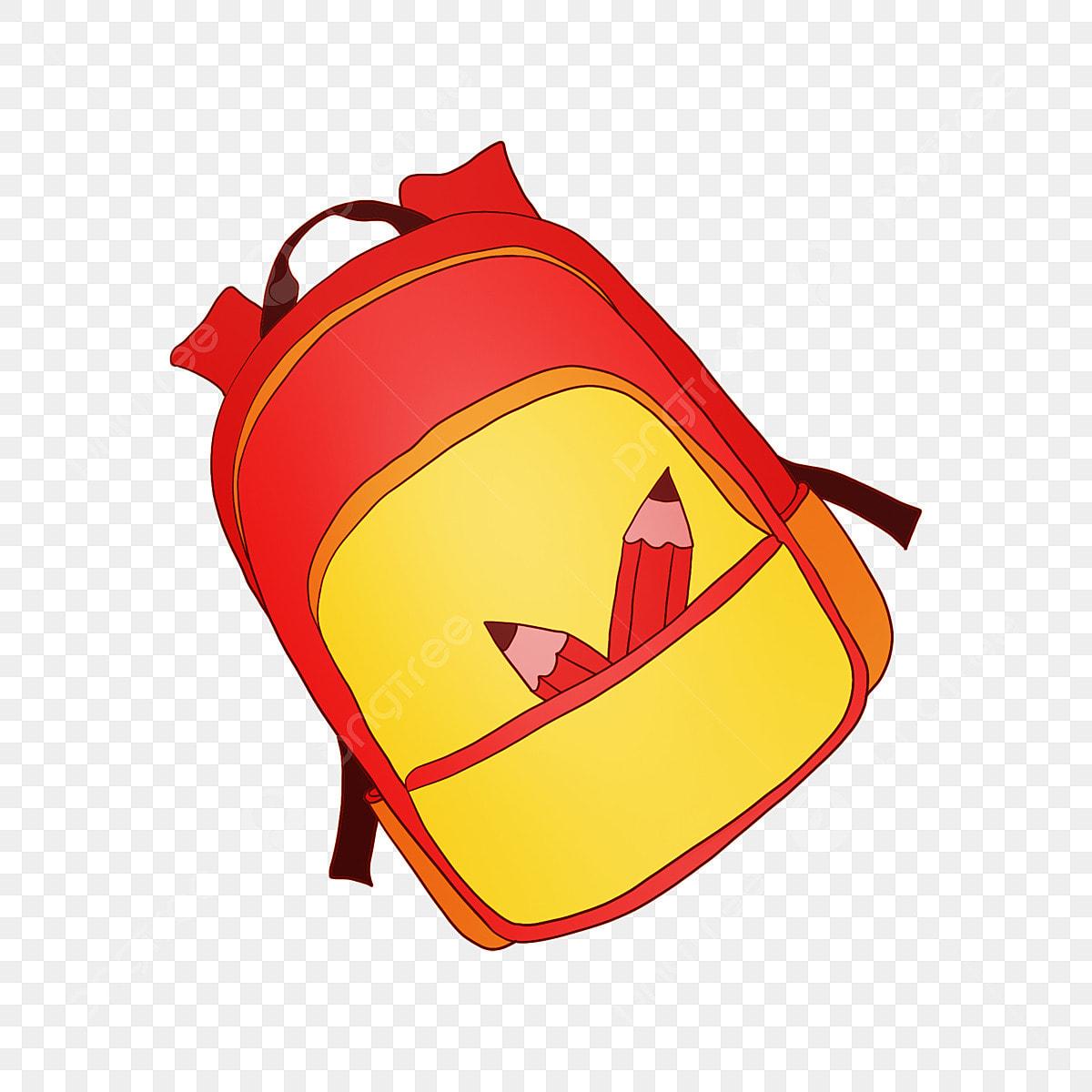 Gambar Beg Sekolah Yang Dicat Beg Sekolah Kartun Hiasan Beg Sekolah Gambar Beg Sekolah Beg Sekolah Kuning Kuning Sekolah Png Dan Psd Untuk Muat Turun Percuma