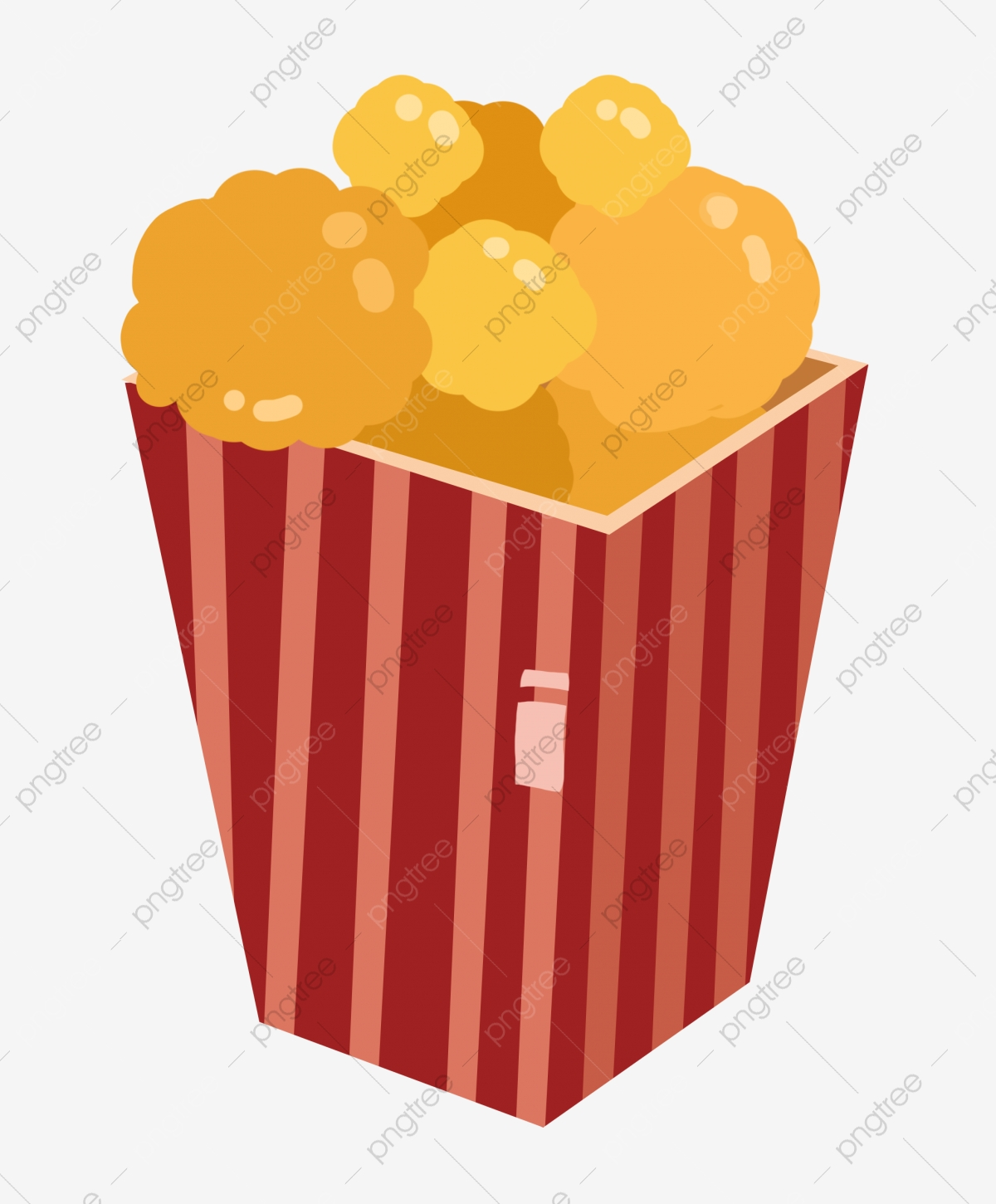 A Bucket Of Popcorn Snack Illustration Popcorn Snacks Corn Png Transparent Clipart Image And Psd File For Free Download