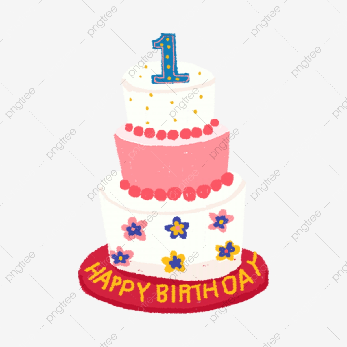 Swell A Three Tiered Birthday Cake Birthday Cake Three Tiered Cake Funny Birthday Cards Online Inifofree Goldxyz