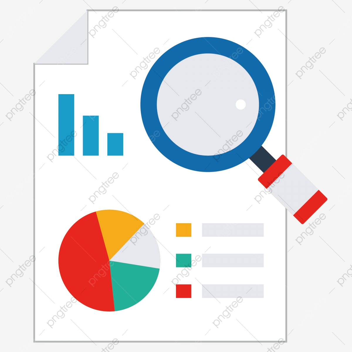 analysis chart and magnifying glass illustration pie chart histogram blue magnifying glass png and vector with transparent background for free download https pngtree com freepng analysis chart and magnifying glass illustration 4510485 html