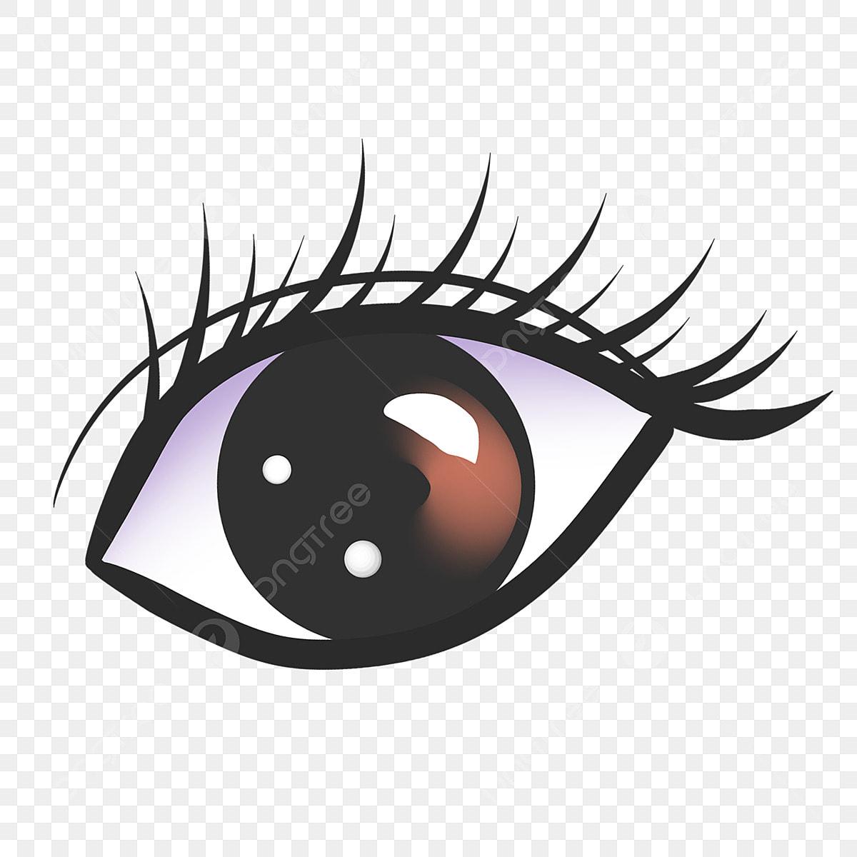 Beautiful Eye Long Eyelashes Illustration Big Eyes Long Eyelashes Eyelashes Png Transparent Clipart Image And Psd File For Free Download