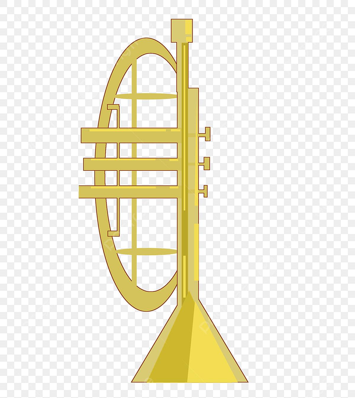 Trompette Musical Instrument Clipart Photo stock libre - Public Domain  Pictures
