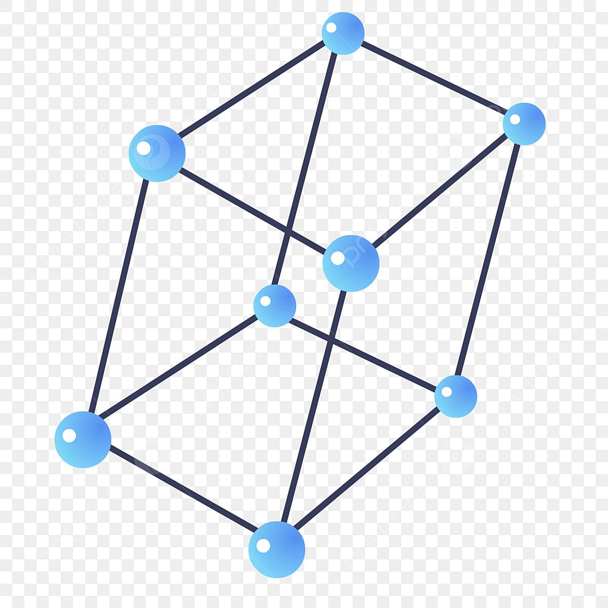 Estructura Molecular Molécula Química Molécula Azul Biología