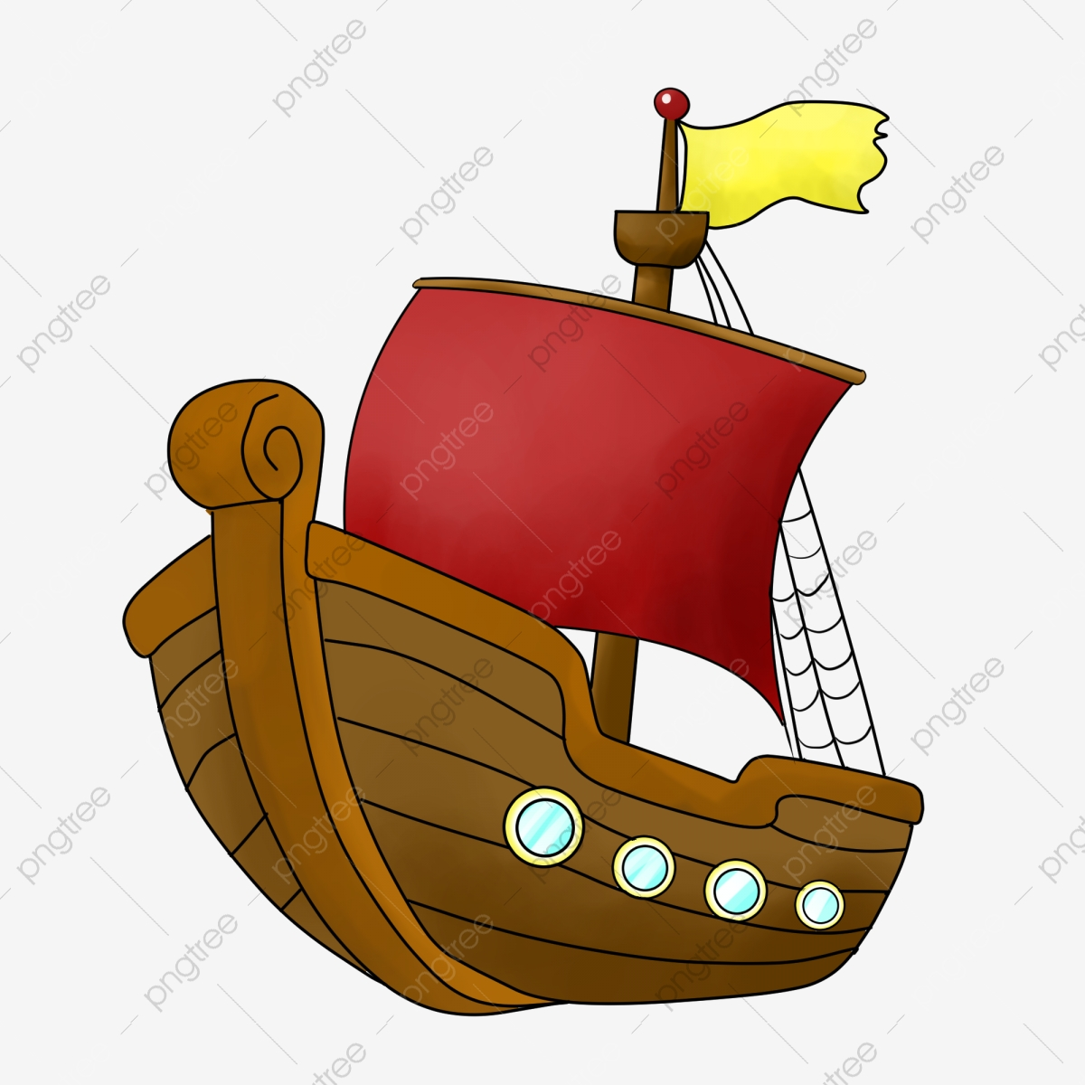 brown ship cartoon illustration brown ship cartoon illustration boat illustration png transparent clipart image and psd file for free download https pngtree com freepng brown ship cartoon illustration 4525044 html
