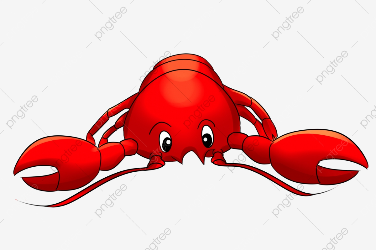 Cartoon Seafood Live Shrimp Lobster Red Cartoon Lobster Cartoon Seafood Lobster Red Lobster Png Transparent Clipart Image And Psd File For Free Download