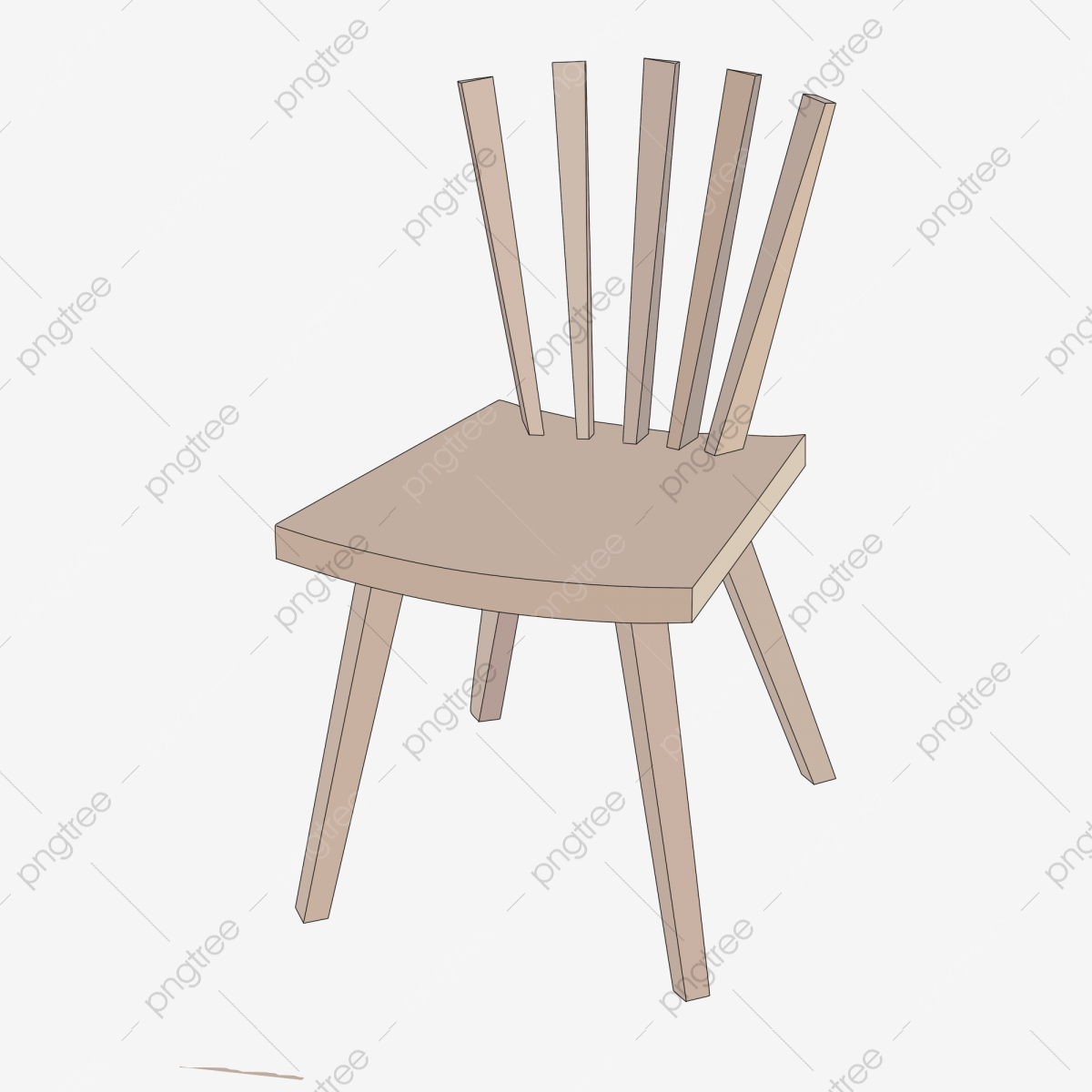 Superb Creative Wooden Chair Illustration Creative Chair Backrest Dailytribune Chair Design For Home Dailytribuneorg