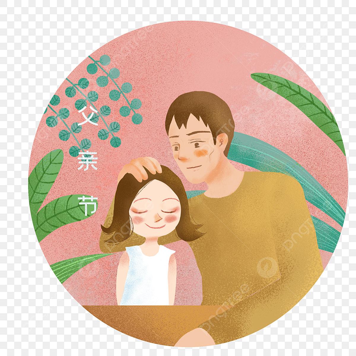 Gambar Ayah Menyentuh Kepala Anak Perempuannya Hari Bapa Ayah Anak Perempuan Png Dan Psd Untuk Muat Turun Percuma