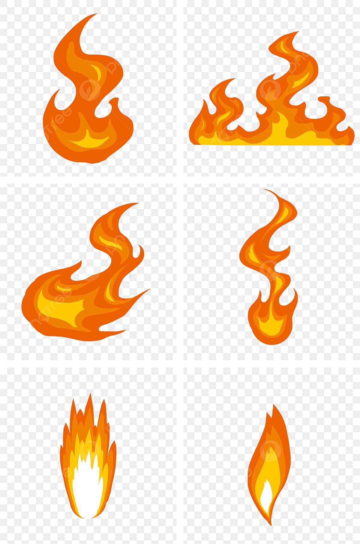Flamme Rouge Ardente Style Simple Battement Boule De Feu