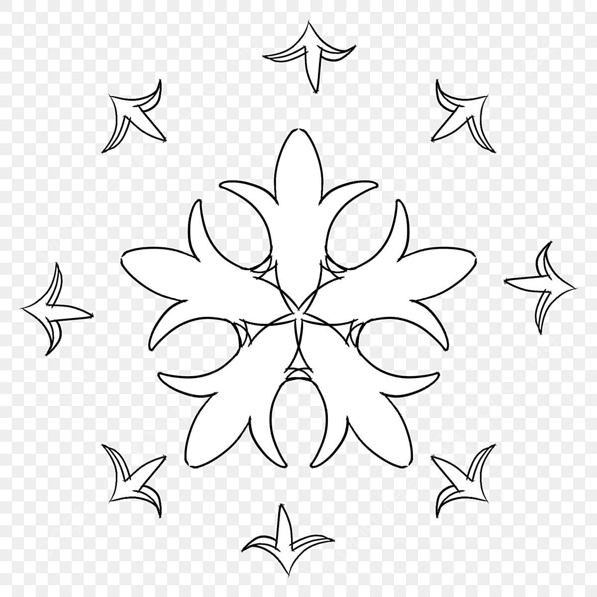 Noir Et Blanc Dessin Au Trait Tatouage Illustration Dessin