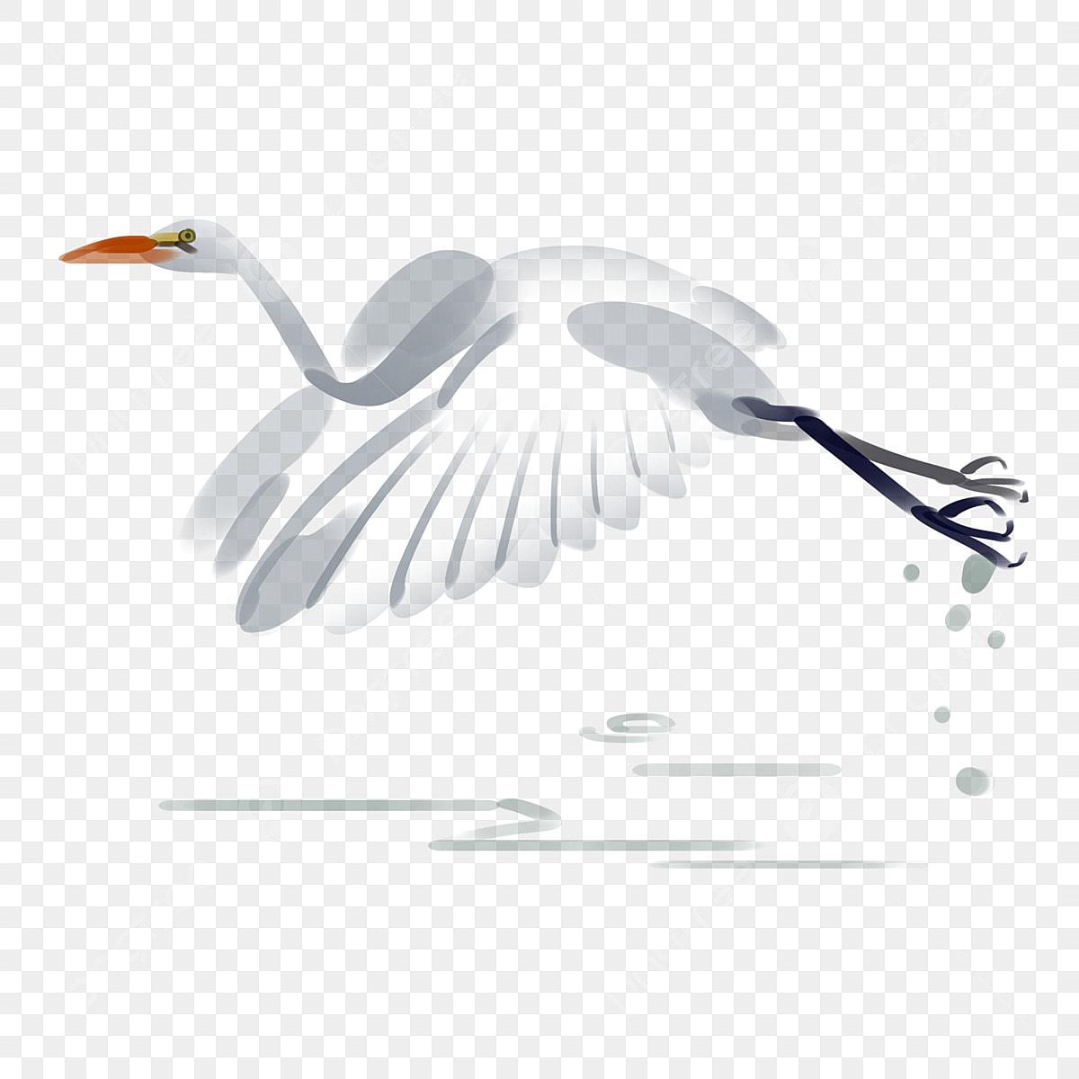 Gambar Terbang Egret Puisi Purba Burung Hiasan Antik Ilustrasi Gaya Cina Png Dan Psd Untuk Muat Turun Percuma