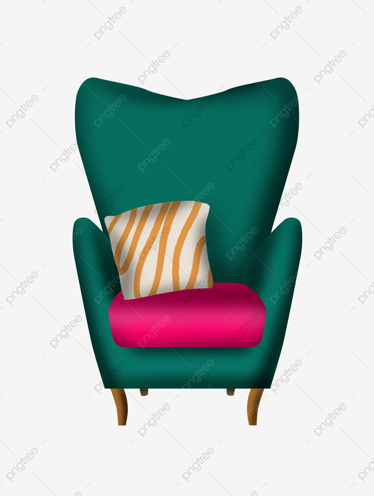 Furniture Chair Sofa Illustration Cushion Sofa Chair Png