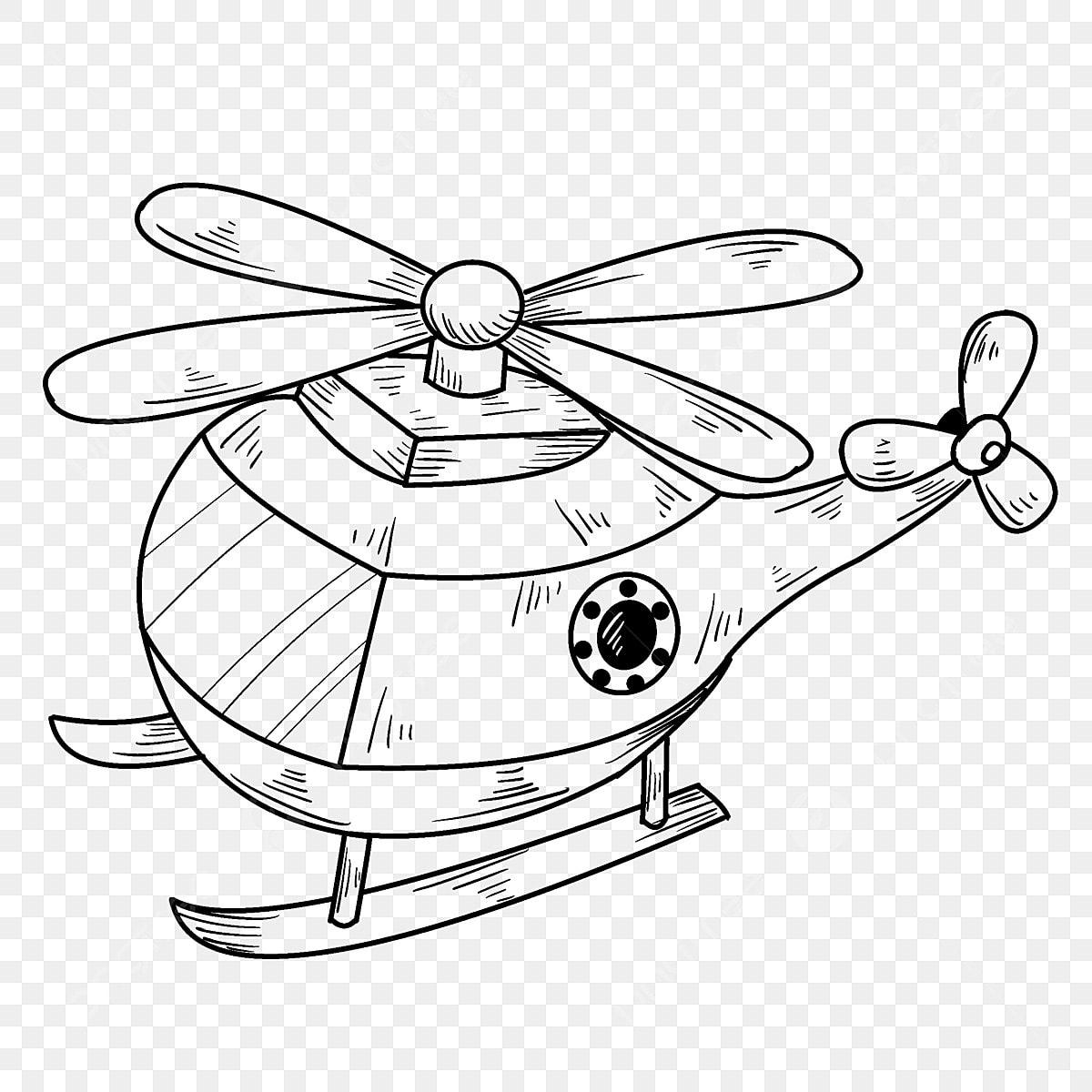Pelukis Tangan Kapal Terbang Ilustrasi Kapal Terbang Kartun