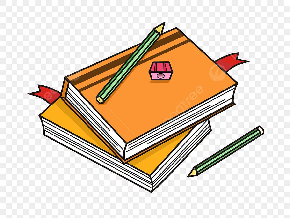 كتب الدراسة التعليم أقلام القرطاسية تعلم كتب الدراسة التعليم أقلام قرطاسية Png وملف Psd للتحميل مجانا