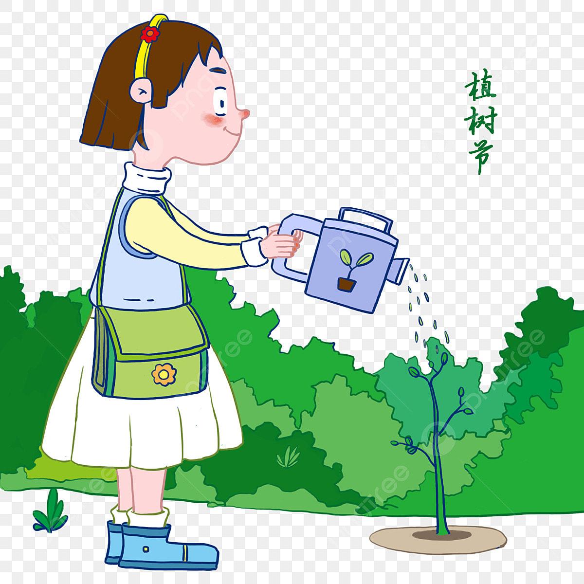 Hình ảnh Minh Họa Nhân Vật Arbor Day Tưới Nước Cho Bé Gái Lá Xanh Trang Trí  Cây, Cho, Minh Họa Nhân Vật Arbor Day, Tưới miễn phí tải tập tin PNG