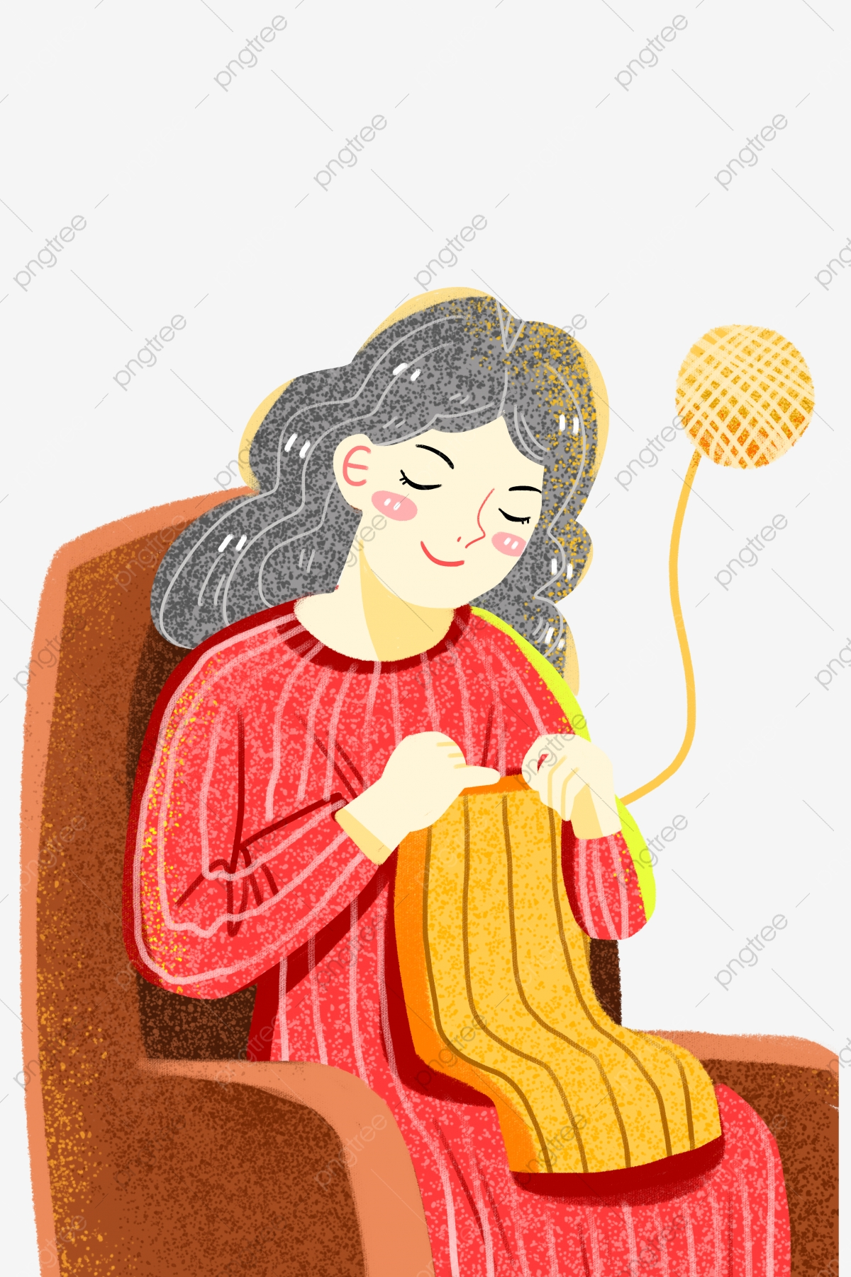 Pin by Wendy Ling on Yarn clipart in 2020 | Knitting yarn, Yarn, Knit art