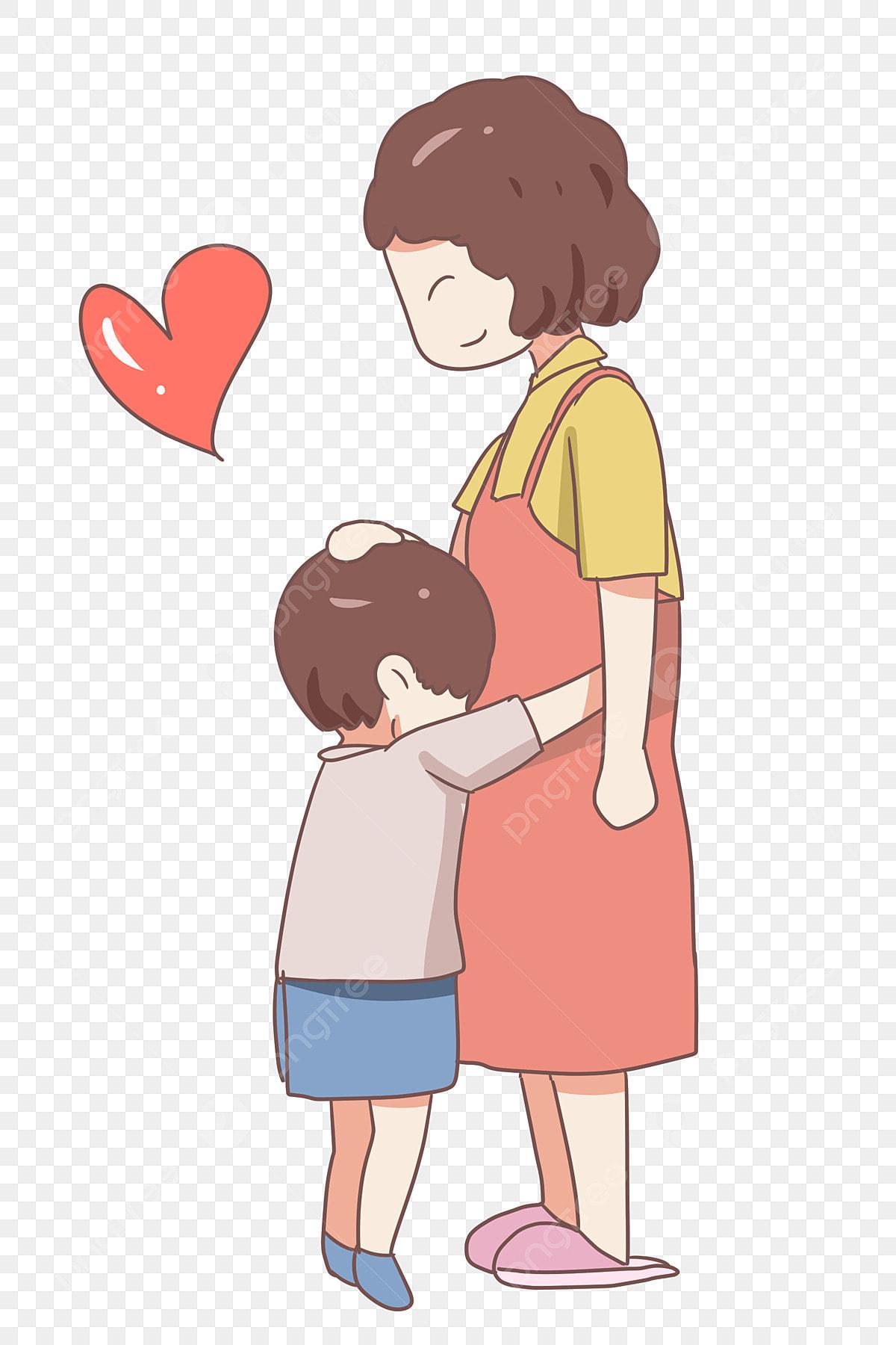 Gambar Cinta Hari Ibu Pelukan Ibu Hari Ibu Pelukan Ibu Png Dan Psd Untuk Muat Turun Percuma