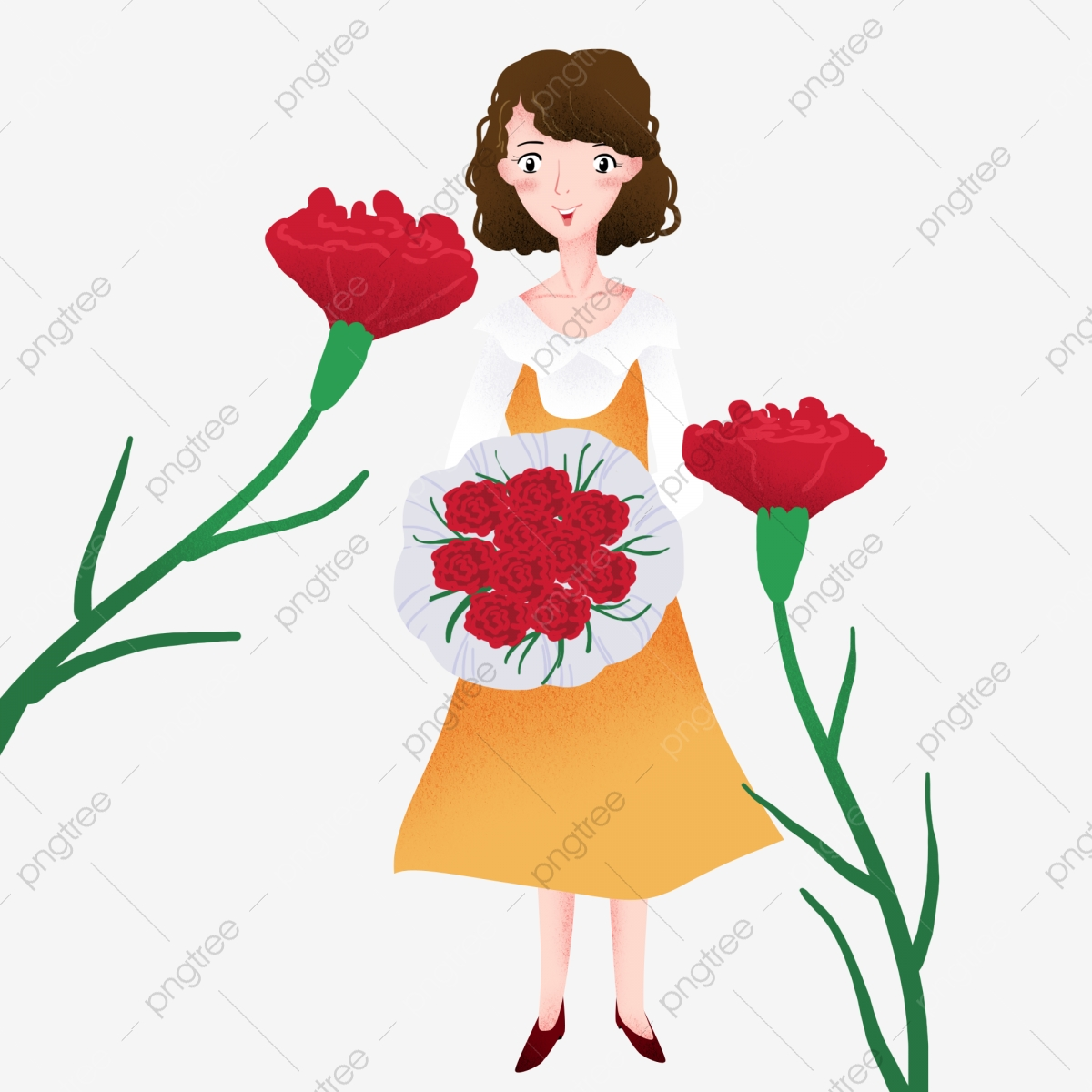 Flower Bouquet Clipart Png Images Vector And Psd Files Free Download On Pngtree
