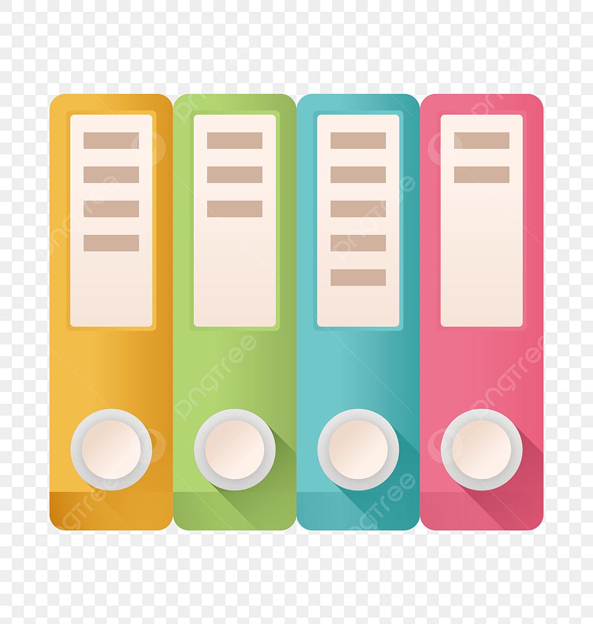 Color Folder Office Supplies Storage