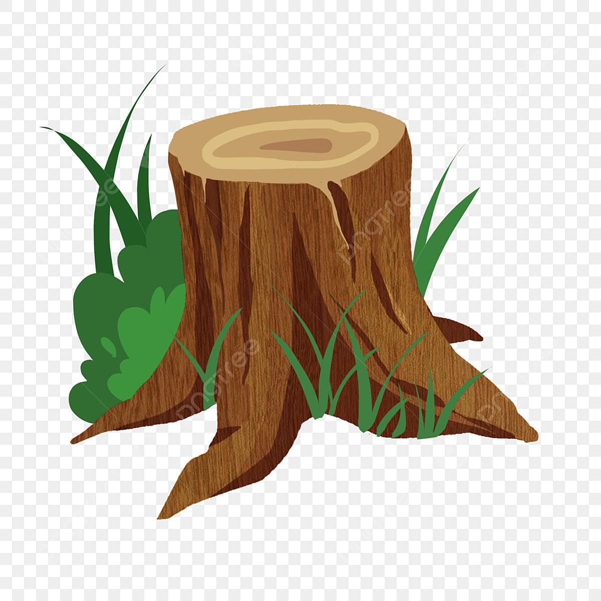 Plant Stump Wood Illustration Flower Illustration Plant
