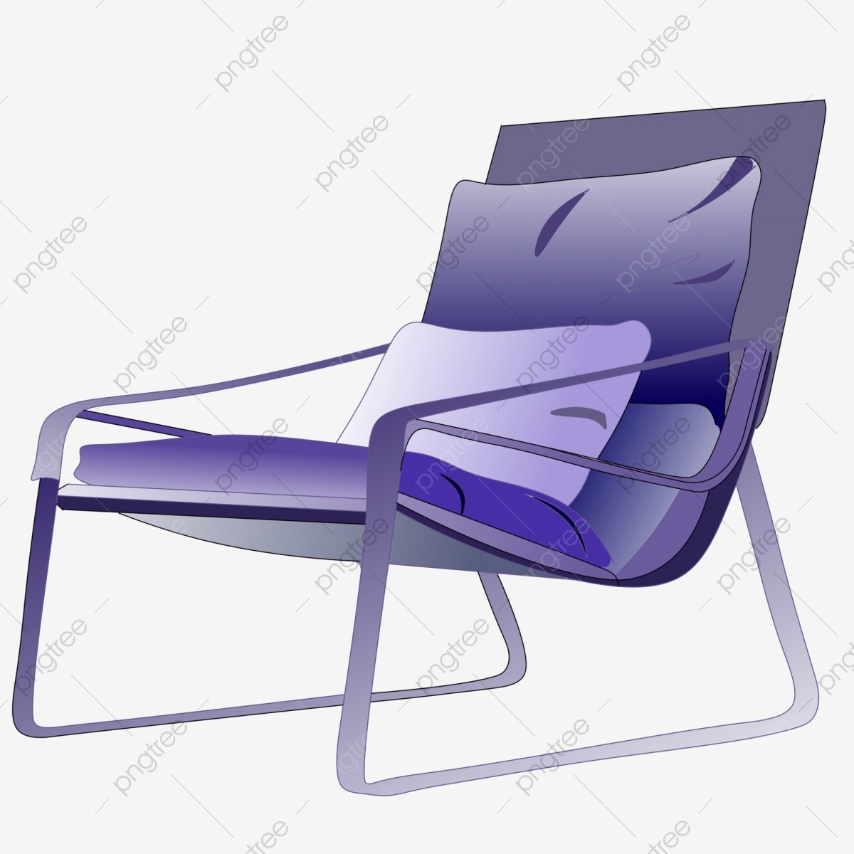 Pleasing Purple Cartoon Lounge Chair Illustration Purple Table And Squirreltailoven Fun Painted Chair Ideas Images Squirreltailovenorg