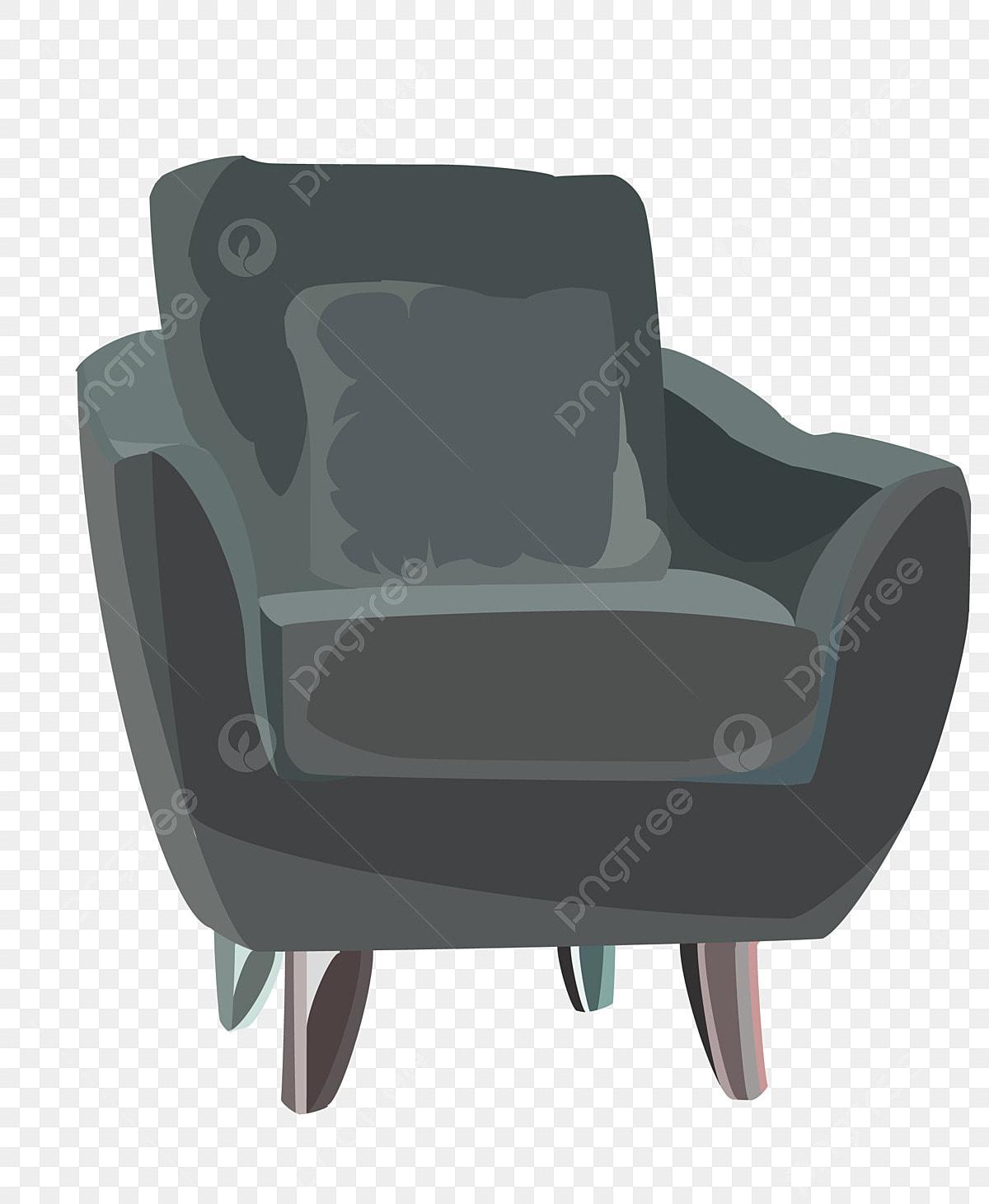 Sofa Furniture Cartoon Illustration Cartoon Illustration