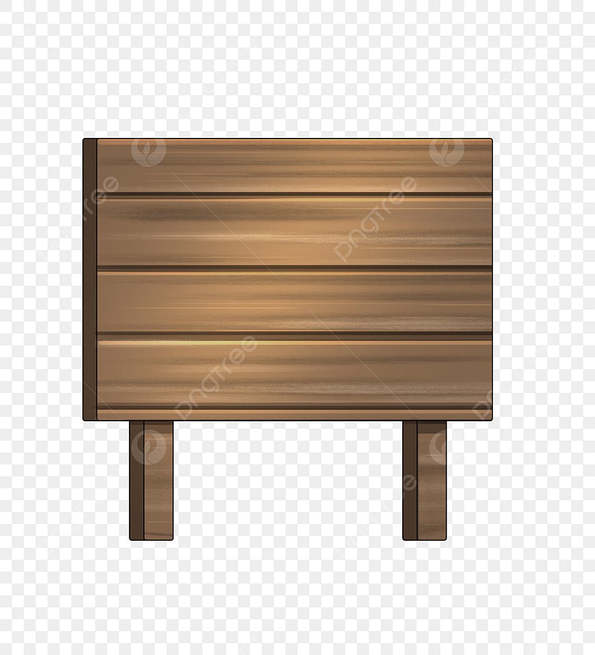 Planche En Bois Deco planche de bois illustration de dessin animé illustration en