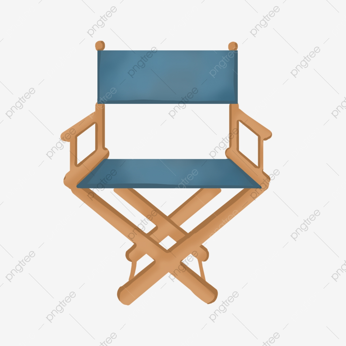 Wooden Movie Chair Illustration, Blue Back, Wooden Seats, Movie Seats PNG  Transparent Clipart Image and PSD File for Free Download