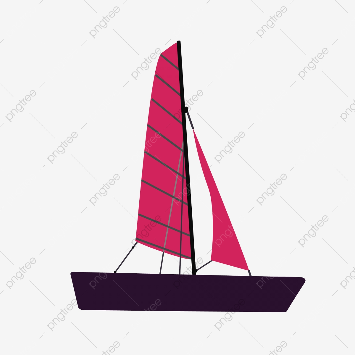 Wooden Sailing Tools Yang Fan Sailing Boat Fishing Boat Png And Vector With Transparent Background For Free Download