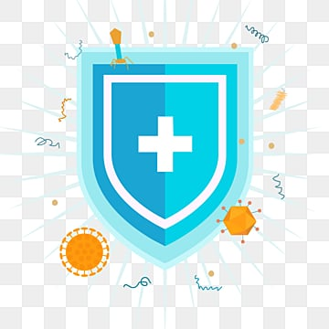 cartoon hand drawn medical shield defense illustration, Medical Care, Immunology, Technology PNG and PSD