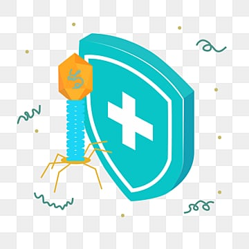 cartoon hand drawn tech shield defense illustration, Medical Care, Immunology, Technology PNG and PSD