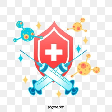 hand painted color medical immune defense shield, Medical Care, Apparatus, Healthy PNG and PSD