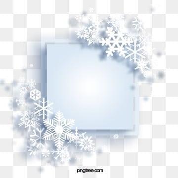 Snowflakes Border Clipart Transparent Background - Free Transparent PNG  Clipart Images Download
