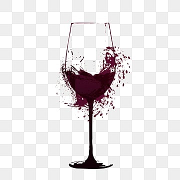 spraying red wine creative wine glasses, Ink, Gradient, Goblet PNG and PSD