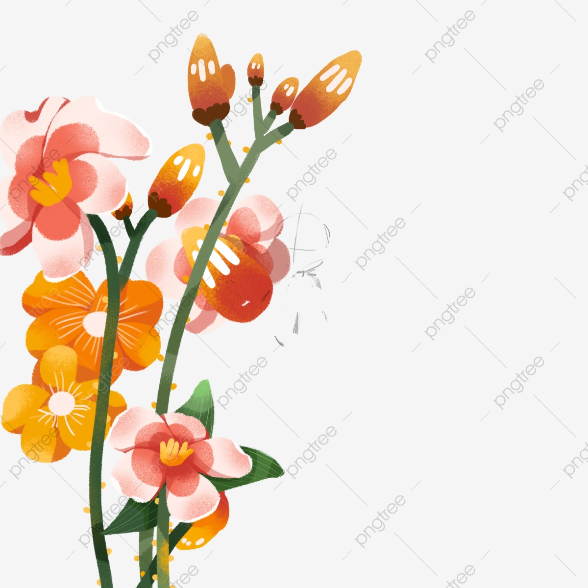 Beautiful Flowers Free Clipart Flower Plants Fresh Petals Beautiful Flowers Png Transparent Clipart Image And Psd File For Free Download