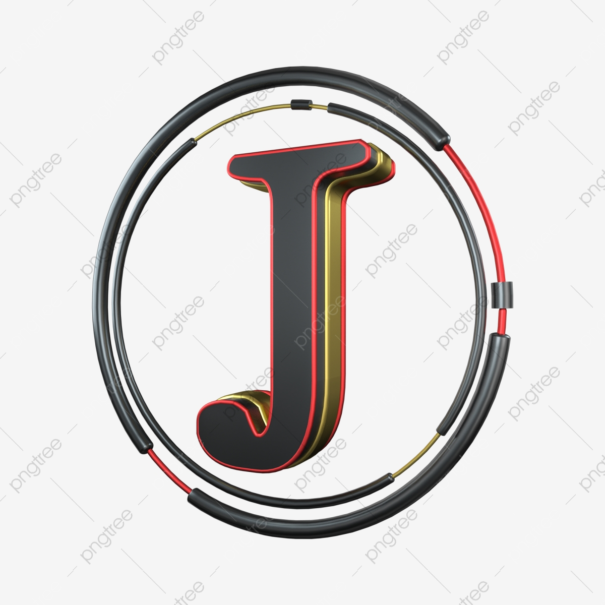 J Logo Black